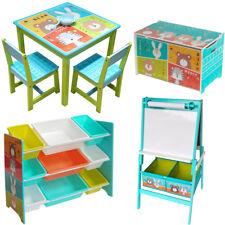 Kindersitzgruppe Kindermöbel Set Stuhl+Tisch+Maltafel+Truhenbank Kinderzimmer