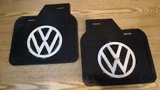VW CLASSIC BEETLE MUD FLAPS PAIR GENUINE 1118216