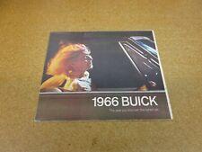 1966 Buick Full Line sales brochure Riviera Wildcat Special Skylark Electra