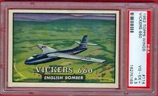 1952 52 TOPPS WINGS PSA #114 VICKERS 660