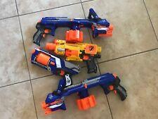 NERF Gun Lot, 1 strong arm, 1 baricade RV10, 2 hail fire