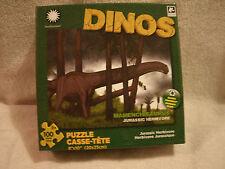 New 100 Piece Mamenchisaurus Dino Puzzle
