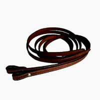Western Saddle Horse 7' Leather Split Reins w/ Chicago Screw End Choice of Color