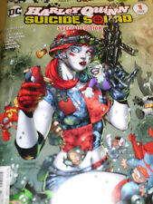 HARLEY QUINN MOVIE SUICIDE SQUAD SPECIAL ED # 1 NEW NM-MINT WITH BAG AND BOARD