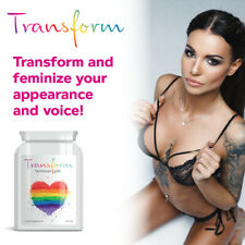 TRANSFORM HORMONE FEMINIZER PILLS – TRANSGENDER BOOB JOB WOMAN TRANSVESTITE