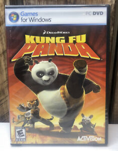 NOS Kung Fu Panda Game For Windows Dreamworks PC 2008 New Sealed