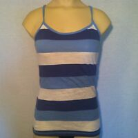 American Eagle Outfitters Blue Striped Tank Sleeveless Blouse WOMEN's XS X-Small