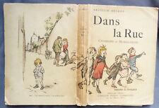 ARISTIDE BRUANT DANS LA RUE Chansons Monologues  POULBOT Flammarion 1/50 japon