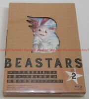 New BEASTARS Vol.2 First Limited Edition Blu-ray Booklet Card Japan TBR-29242D