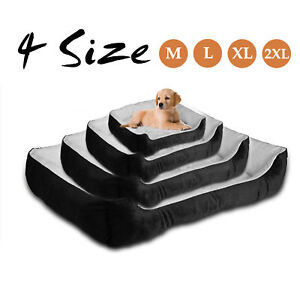 Super Large Soft Fleece Waterproof Pets Dog Cat Beds Basket Nest Mat M/L/XXL