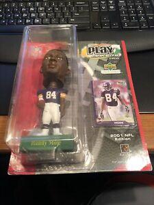 Upper Deck PlayMakers Randy Moss 2001 NFL Bobble Head Minnesota Vikings