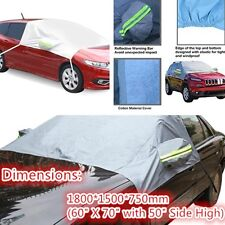 Car Snow Protect Cover Front Windshield Ice Sun Frost Protector Tarp Truck Flap#