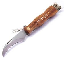 MAM Messer FI-2591 Pilz-Taschenmesser mit Bürste Edelstahl 17,5cm