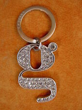 Cole Haan Key Chain Fob G Series crystal bling keychain NEW with box