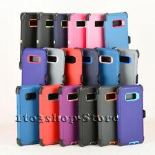 Samsung Galaxy S8 / Galaxy S8+ Plus Defender Shockproof Case w/Holster Belt Clip