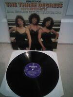 "The Three Degrees – Hits! Hits! Hits! Vinyl 12"" LP Album SHM 3086 1981"