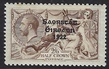 IRELAND:1925 Irish Free State Narrow Date opt on GB 2/6d choc.-brown SG 83 MNH