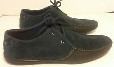 Frenchic Suede Women's Shoes Size 9.5 MUCCI 01 Dark Navy Blue Color A9