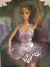 Ballet Wishes Barbie Lavender Tulle Tutu Gorgeous HAIR STYLE BEADED 6&UP NEW