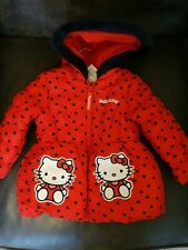 Girls Sanrio Hello Kitty Coat Age 18-24 Months Brand New
