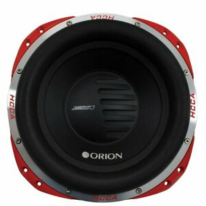 """Orion HCCA122 12"""" Dual 2 Ohms 5000 Watts Nominal Power DVC Car Subwoofer"""
