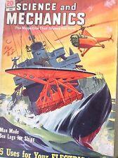 Science And Mechanics Magazine Man Made Sea Legs December 1949 082917nonrh