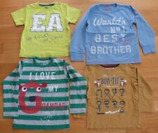 Tolles 4er Set aus Shirts für Jungs in Gr. 116: Eat Ants, NEXT, EARTHBOUND