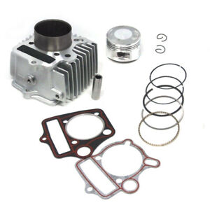 Engine Cylinder Kit 54mm 110 to 125cc fit for HONDA C110 TRX110 Dirt Pit ATV