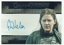 Game of Thrones Inflexions Valyrian Autograph Card emma Whelan as Yara Greyjoy