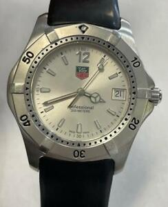 TAG HEUER Professional 2000  WK1112-0 WATCH  **NO RESERVE**