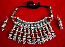 Tribal Jewelry Necklace Handmade Kuchi Banjara Bohemian Gypsy Fusion Belly Dance