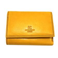 0c80ea64e3 Portafoglio donna in PELLE con portamonete CONTEMPORARY COVERI 171-156  giallo