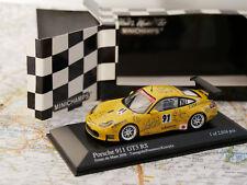 MINICHAMPS PORSCHE 911 GT3 RS ESSAIS DU MANS 2006 YAMAGISHI / FOURNOUX NEW 1:43