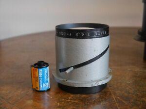 """Elite 14"""" projector lens 355mm alt portrait lens for large format"""