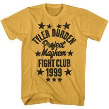 Fight Club Movie Tyler Durden Project Mayhem 1999 Adult T Shirt