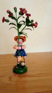 Hubrig Blumenkind groß 24 cm Mädchen mit Malve