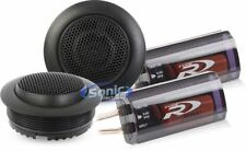 "ALPINE 1"" Type-R Series Silk Dome Tweeter Set with Crossover Filters 