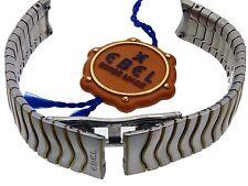 EBEL SPORT CLASSIC ARMBAND DAMEN-BAND BRACELET STAHL/GOLD  15 MM  ANSTOß