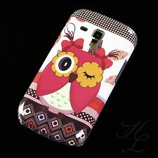 Samsung galaxy s Duos s7562 silicone Case Housse de protection anti-chocs Blink Hibou