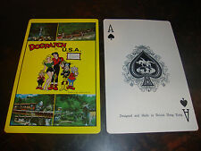 Lil Abner---Dogpatch---Jumbo Size Playing Cards---Complete Set---With Box---1968