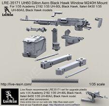 Live Resin 1/35 LRE-35171 UH60 Dillon Aero Black Hawk Window M240H Mount
