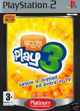 Videogame Platinum Eye Toy - Play 3 - Solo gioco PS2