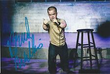 "Brad Williams Signed 4x6 Photo ""About Last Night"" Comedian Adam Ray COA Proof!"