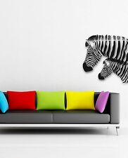 Wall Stickers Vinyl Decal Zebra Animal Coolest Design for Living Room (ig486)