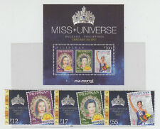 Philippine Stamps 2017 Miss Universe Complete set MNH