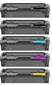 5 Toner Set Alternaviv zu Canon 054 H I-Sensys LBP620C LBP621CW LBP623CW MF645