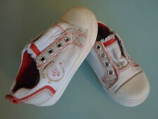 Adams Kids Boys Size 6 White Multi Trainers