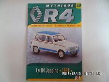 MAGAZINE MYTHIQUE RENAULT 4 N°18 R4 JOGGING 1981  I85