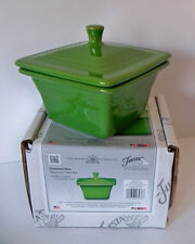 SHAMROCK Belk Store Exclusive Fiesta Square Covered Box, Candy Dish NEW 1st Qual