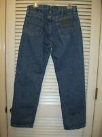 Wrangler George Strait Denim Jeans 13MGSHD Size 32X30